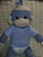Load image into Gallery viewer, PDF PATTERN Baby Sock Monkey