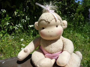 PDF Pattern Waldorf Monkey Doll