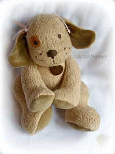PDF Pattern Waldorf Puppy Dog Doll