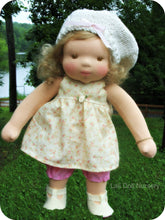 Load image into Gallery viewer, PDF Pattern Doll Dress for waldorf and cloth dolls