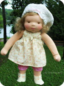 PDF Pattern Doll Dress for waldorf and cloth dolls