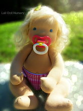 Load image into Gallery viewer, PDF Pattern - Jointed Waldorf Pacifier Baby Doll