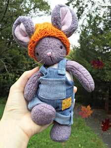 Billy Mouse PDF Pattern