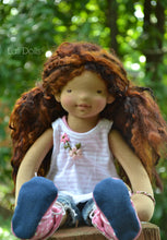 Load image into Gallery viewer, PDF Tutorial for Handmade Wefted doll wigs