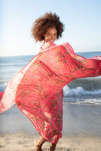 Load image into Gallery viewer, Cora Pink Millefleur - Cotton Voile