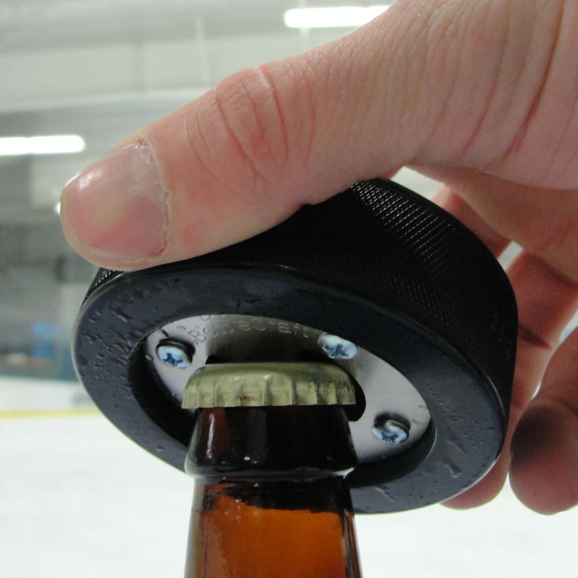 ... Hockey Puck Bottle Opener ... 2ac7f6993