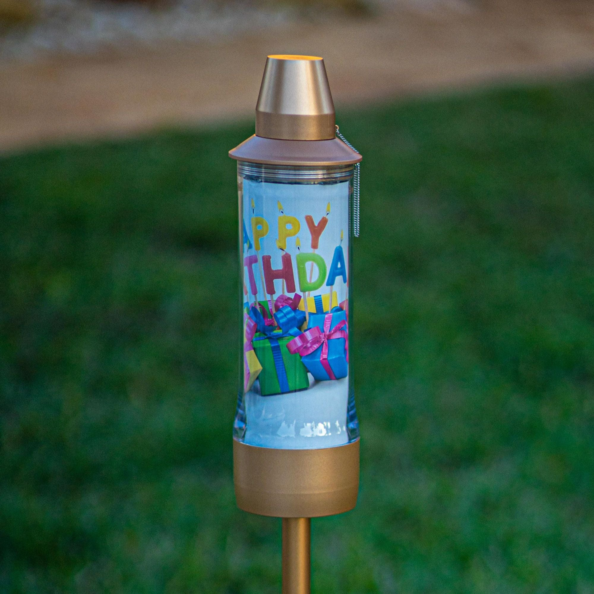 Kiki Torch Personalized Birthday
