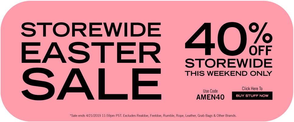 Storewide 40% Off Easter Sale