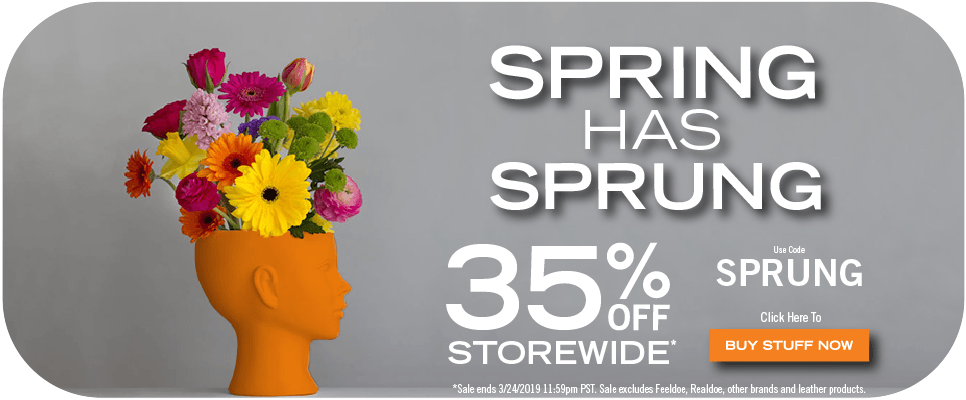Spring Has Sprung! | 35% Off Storewide* This Weekend