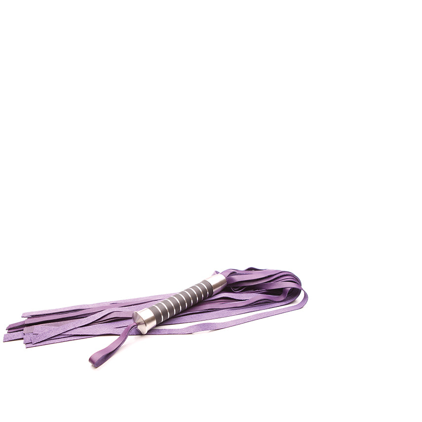 "Bido Floggers 28"" Purple Leather"