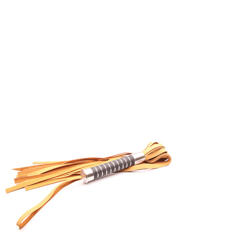 "Bido Flogger 28"" Nubuck Tan Leather"