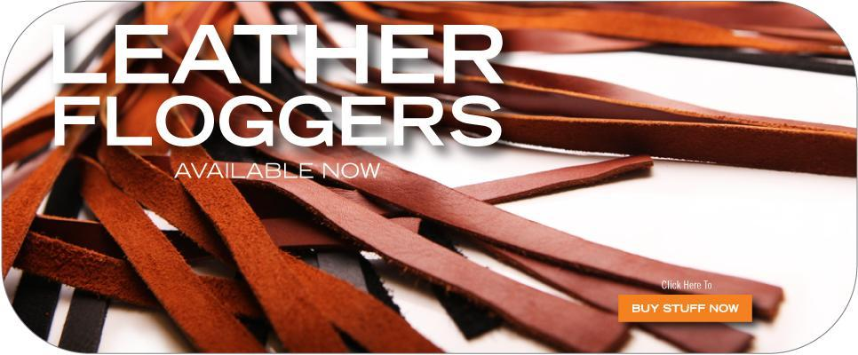 Leather Floggers | Get yours now!
