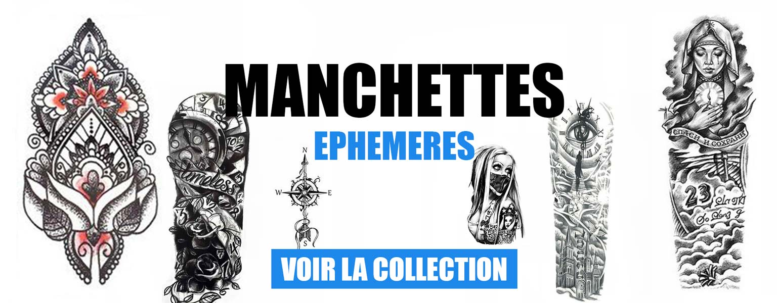 manchette éphémère collection