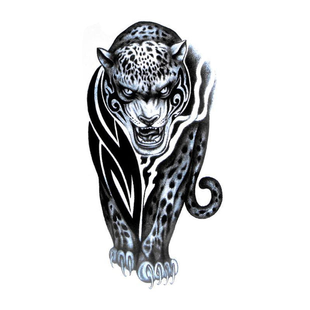 Tatouage Tigre Tribal