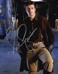 Nathan Fillion signed items