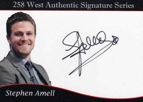 Stephen Amell signed trading card - Limited to 50