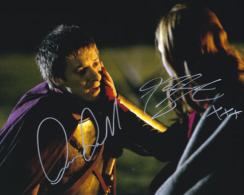 Official Karen Gillan & Arthur Darvill signed Doctor Who 8x10 Photo