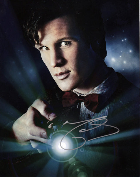 Official Matt Smith signed Doctor Who 8x10 Photo