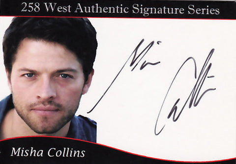 Misha Collins signed Trading Card - 2010 SDCC Exclusive
