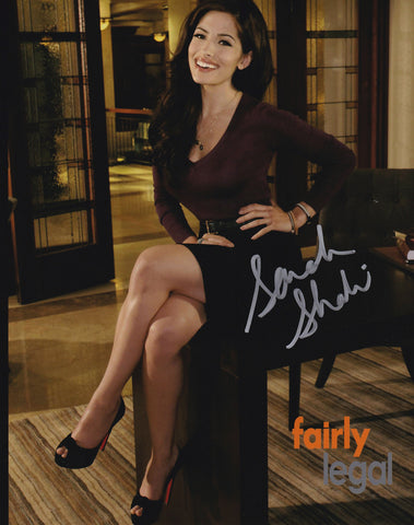 Sarah Shahi signed 8x10 photo - Fairly Legal  - Autographed
