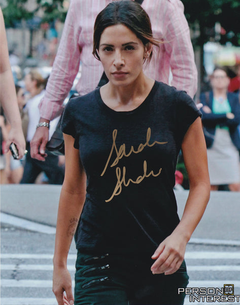 Sarah Shahi signed 8x10 photo from Person of Interest - Autographed