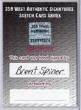 Brent Spiner - Signed Blank Sketch Card C (Data Star Trek TNG)