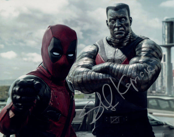 "Stefan Kapicic ""Deadpool"" signed 8x10 - X-Men's Colossus"