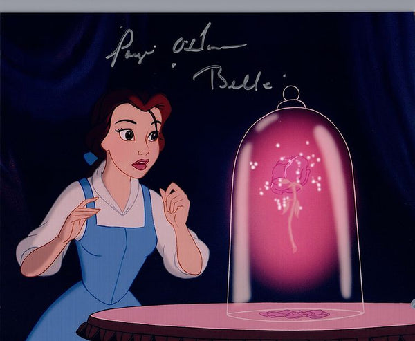 "Disney's Beauty and the Beast ""Belle"" signed 8x10 photo by Paige O'Hara"