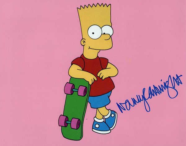 "Autographed 8x10 ""Bart Simpson"" photo signed by Nancy Cartwright"