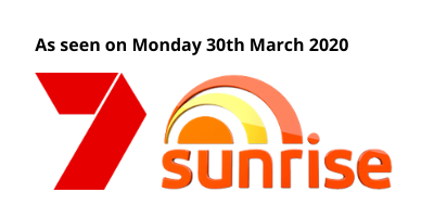 Aeris Active seen on 7 | Sunrise show Monday 30th March 2020