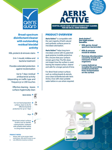 Aeris Active™ 750ml x 3 units - Available in Australia ONLY - Maximum six units per order