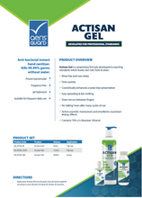 Load image into Gallery viewer, AerisGuard Actisan Gel - 125ml (1 carton x 80 bottles)