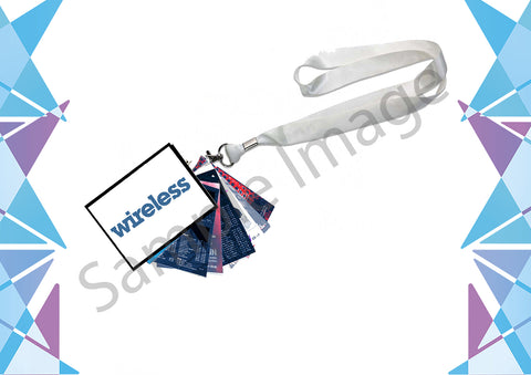 Pre-Order Wireless 2021 Event Programme Lanyard