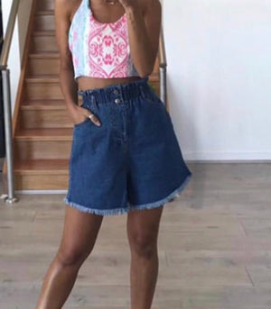 Leah Denim Short