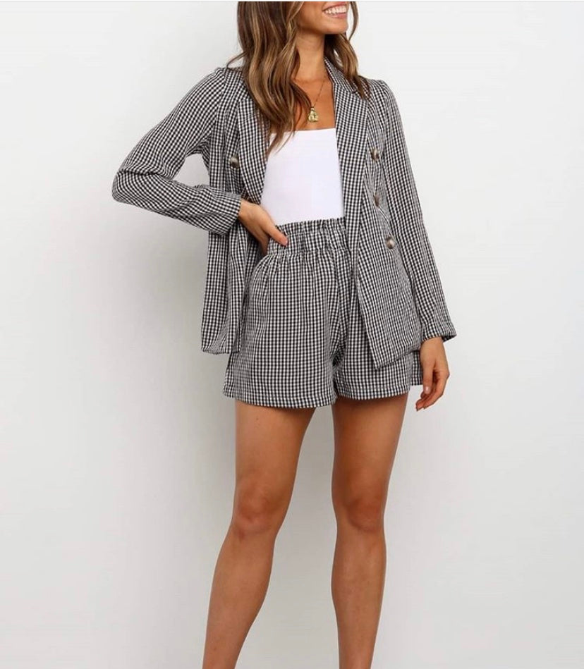 Andy Shorts Gingham