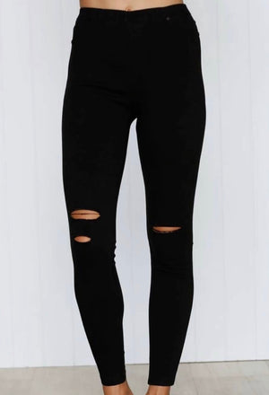 Jenna Jeggings Black