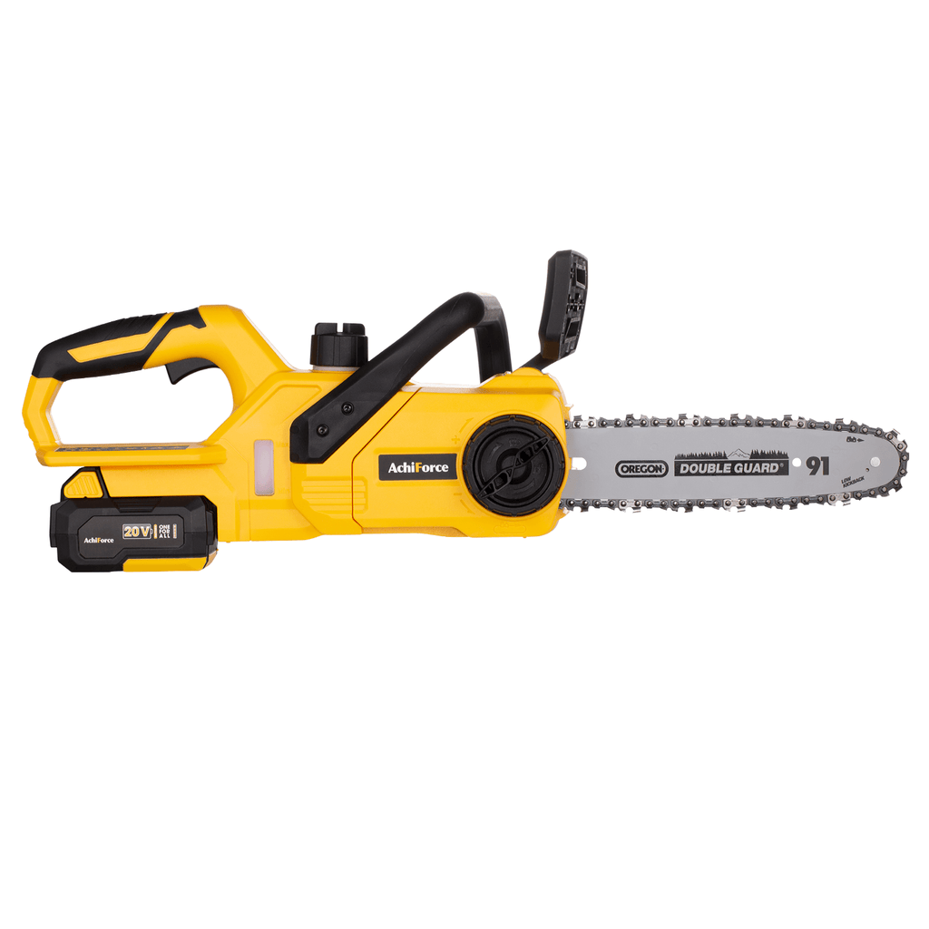 "AchiForce 20 V 10"" Cordless Chainsaw"