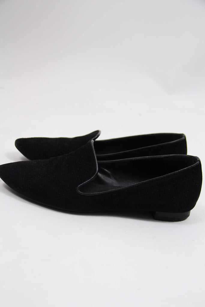 Sorte secondhand loafers fra Billi Bi
