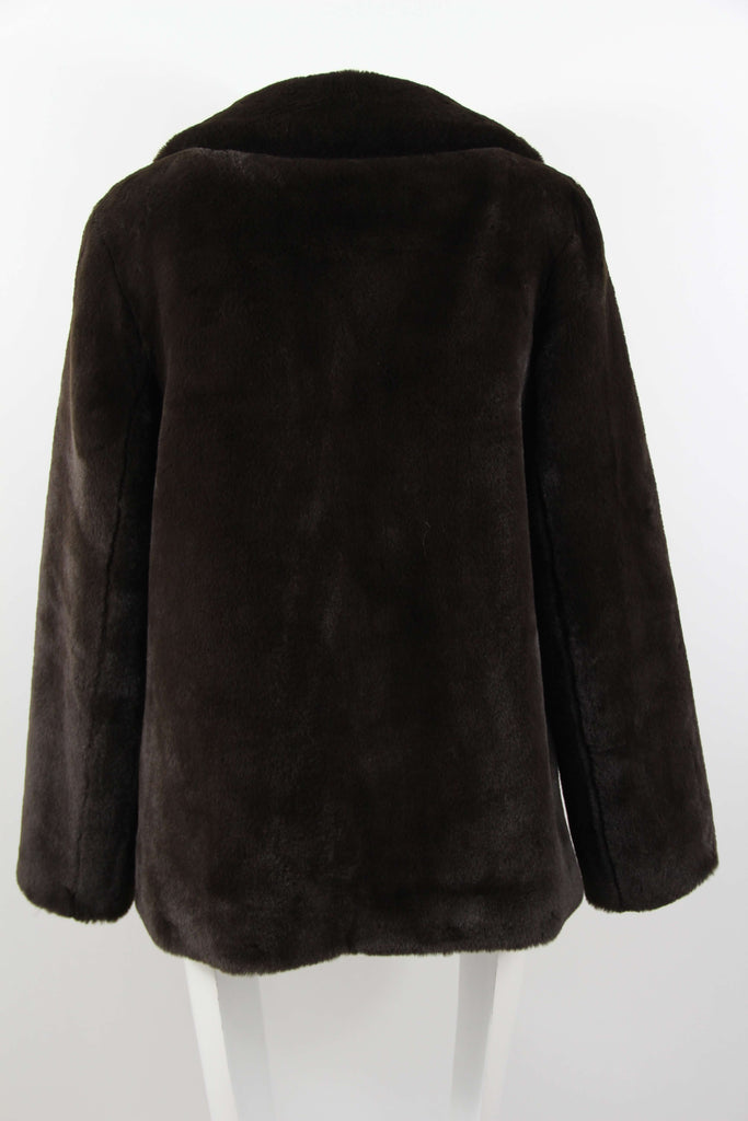 Brun secondhand faux fur