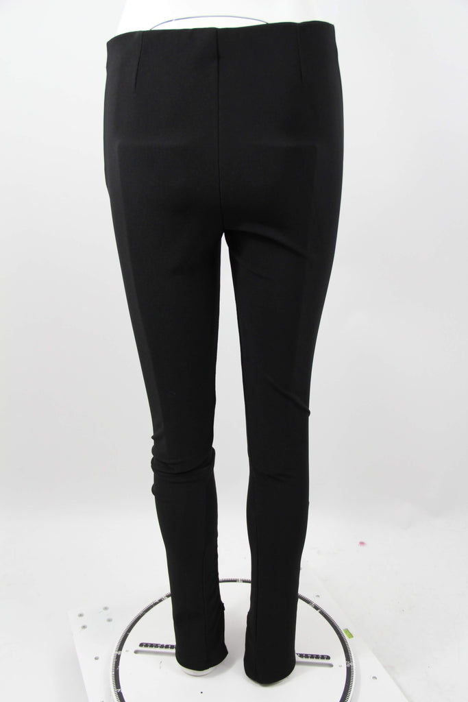 Sorte secondhand leggings fra Zara