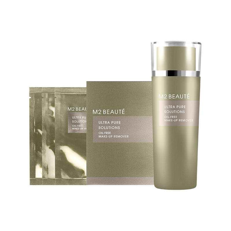 M2 Beauté Ultra Pure Solutions Oil Free Eye Makeup Remover