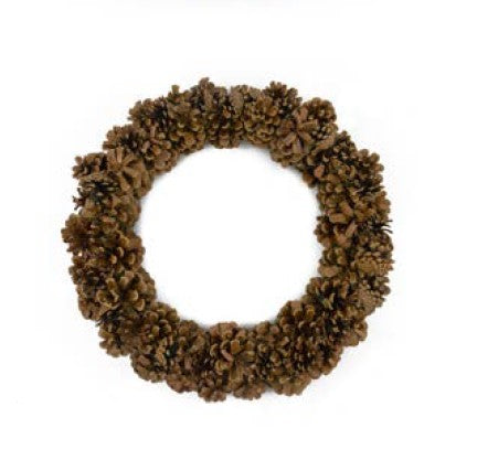 Pinecone Wreath - 16