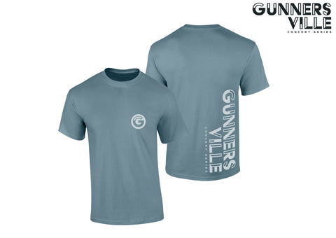 Gunnersville Grey Event Logo T-Shirt