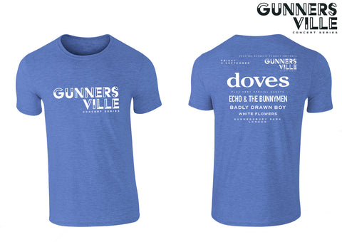 Gunnersville The Doves Blue Event T-Shirt
