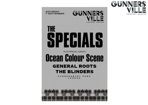 Gunnersville The Specials Event Poster