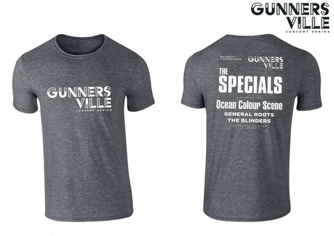 Gunnersville The Specials Grey Event T-Shirt