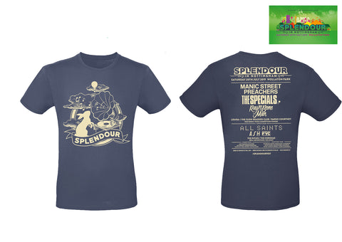 Splendour 2019 Navy Marl Event T-Shirt