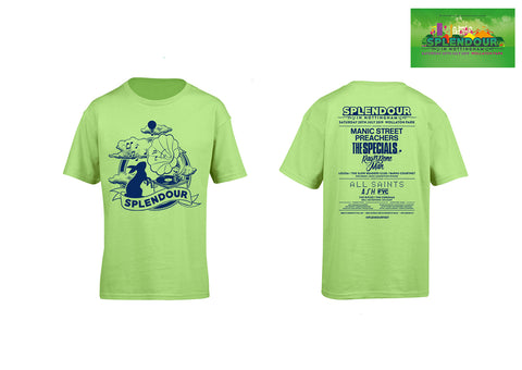 Splendour 2019 Kids Green Event T-Shirt