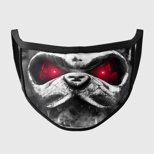 Download Festival Metal Head Face Mask