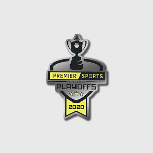 Playoffs 2020 Pin Badge
